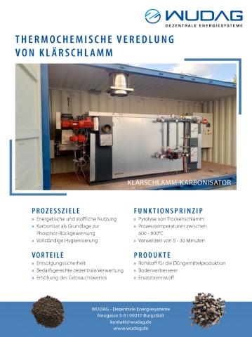 wudag.de – A4-Flyer Prozessbeschreibung