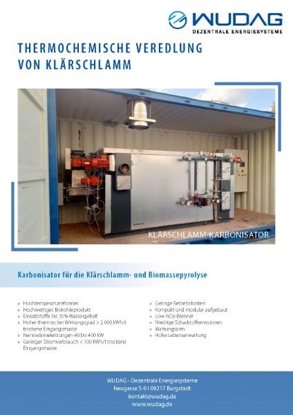 wudag.de – A4-Flyer Produktpräsentation